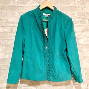 Vintage TanJay cropped zipper jacket